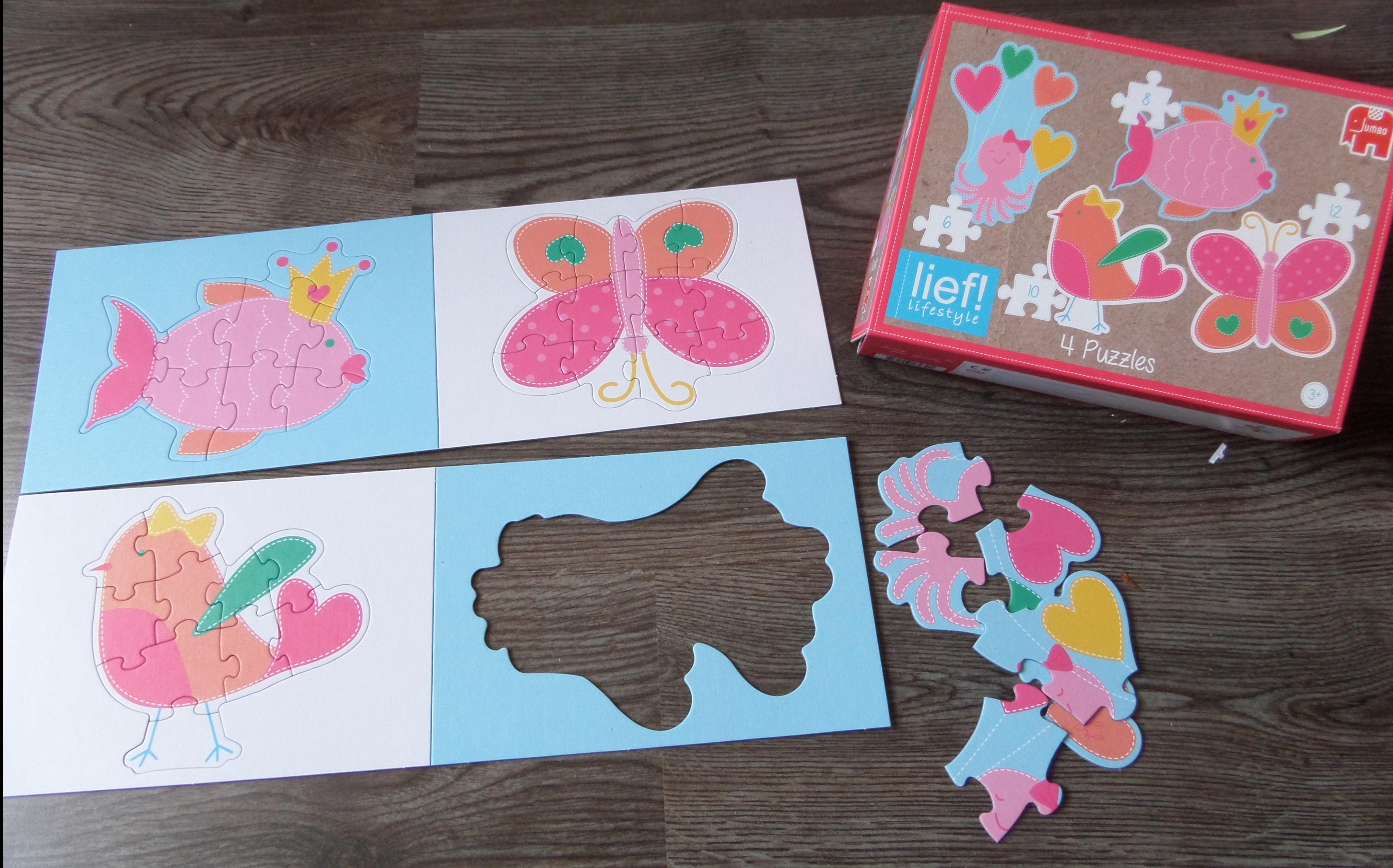 Verwonderend Lief! Lifestyle knuffel en puzzel – KiDDoWz: voor kinderen en hun FE-81