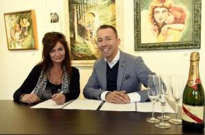 Belinda Meuldijk met Michael van Hoorne Copyright Daniel Kroll