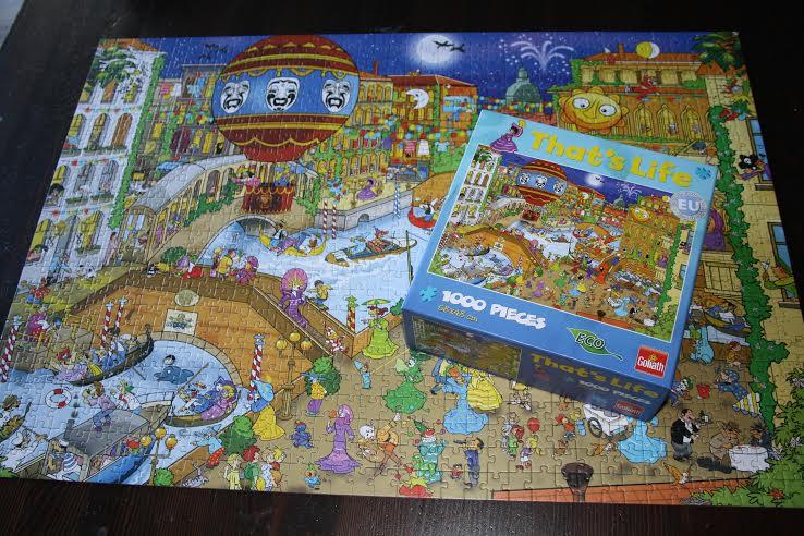 Goliath Games: That's Life- puzzel Venice 7+ – KiDDoWz ...