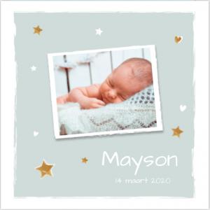 geboortekaartje-foto-sterren