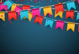 Celebrate banner by Shutterstock