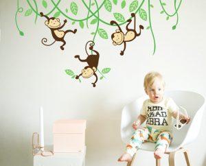 Muurstickers Kinderkamer K3.2x Schattige Muurstickers Voor Op De Baby En Kinderkamer Kiddowz