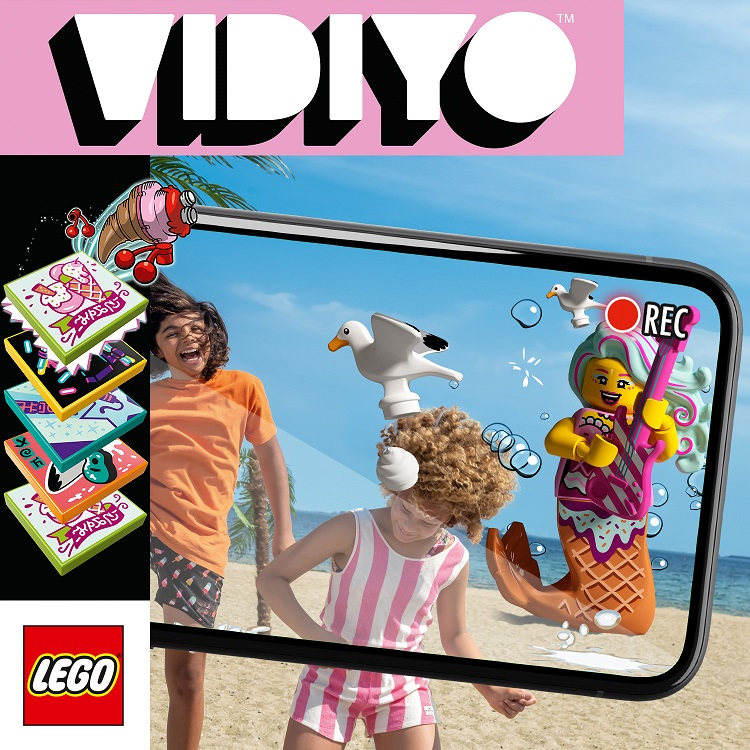 LEGO VIDIYO: een speelse en innovatieve manier om muziekvideo's te maken.