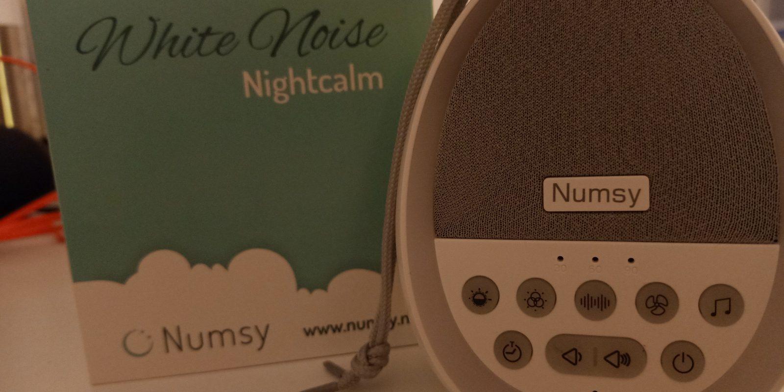 Numsy NightCalm white noise