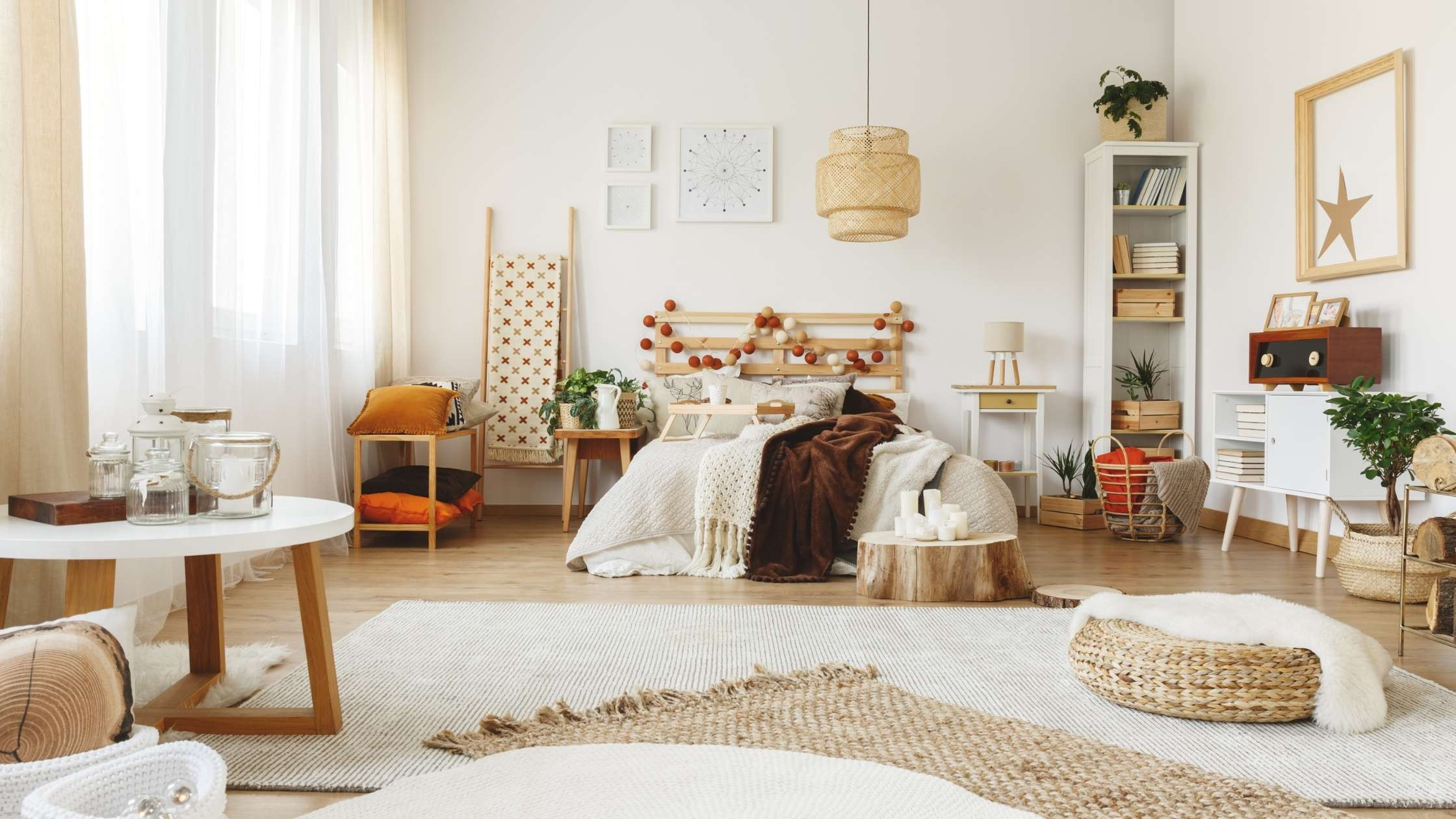 vloerkleed in slaapkamer