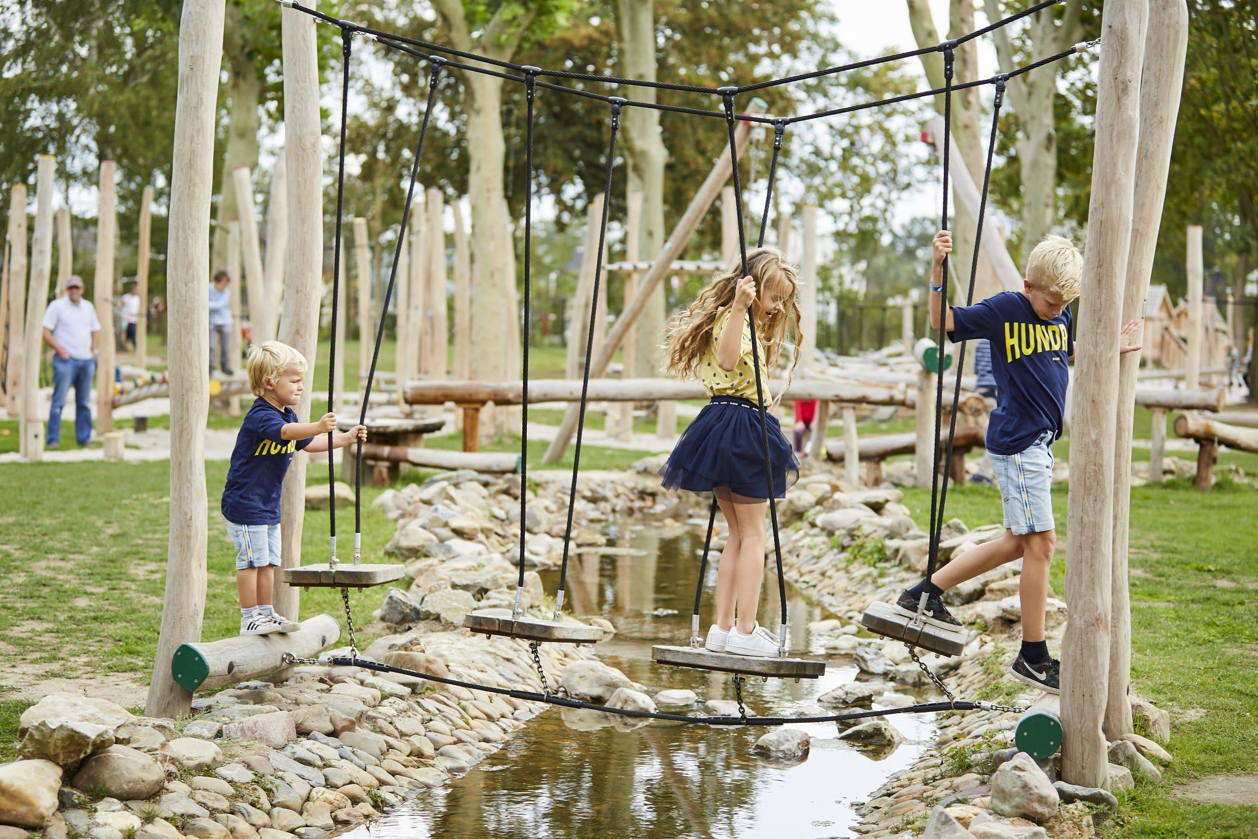 Waterspeeltuin De Leistert: gezellige kindercamping