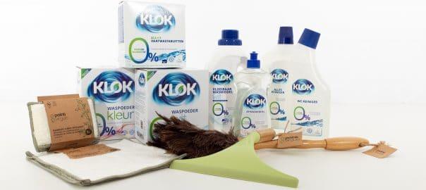 klok schoonmaakmiddelen mileubewust