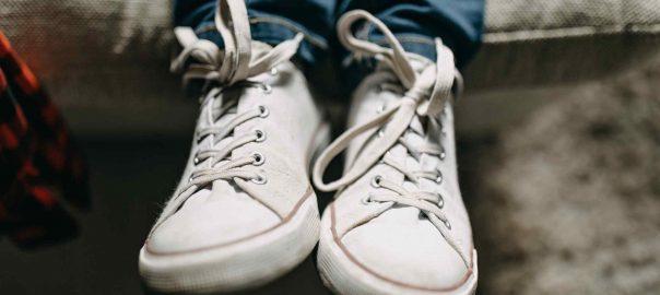 schoenen passen met kinderen